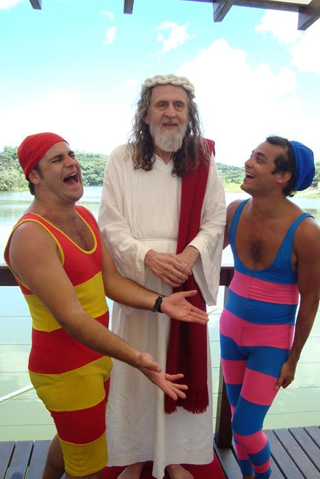 Participação de INRI CRISTO no programa de humor Panico na TV